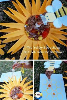 Yellow Bee Pretend Play - Kidz Activities