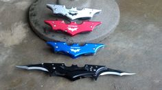 Super Cool Batman knife with steampunk by CrimsonsCuriosities, $35.00