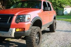 Photo by Stephen Warner Lifted Ford Explorer, 2010 Ford Explorer, Ford Explorer Accessories, Mercury Mountaineer, Sport Trac, Mid Size Suv, Suv Trucks, Truck Camping, Pickup Trucks
