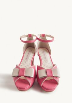 Betty Bow Heels By B.A.I.T. Footwear   Modern Vintage Shoes - These need to get in my life right away