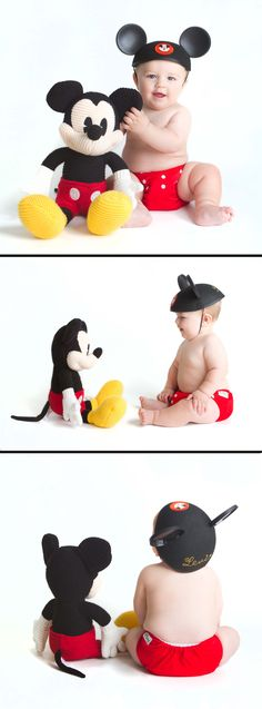 #Disney #Baby #Mickey   Sacramento Wedding & Portrait Photographers | Photo Booth Rentals | Anfinson Photography