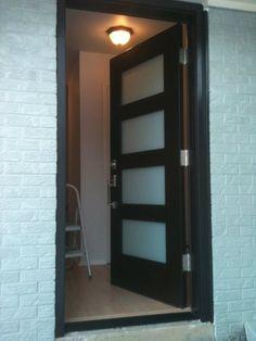 LVL door with 1/4\