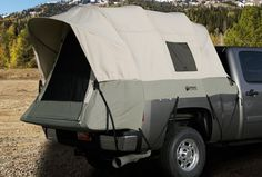 A Truck Plus A Tent Make The Perfect Camping Trip
