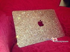 Bedazzled Bling MACBOOK Air Pro Case Cover in Silver Crystal Rhinestone Glittery Sparkly Shinny Swarovski New Macbook, Macbook Air Pro, Macbook Case, Laptop Cases, Computer Case, Macbook Accessories, Car Accessories, Glitter Make Up, Sparkles Glitter