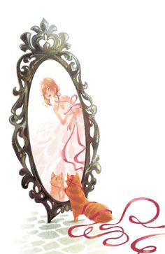 Mirror / Specchio - Illust. by #BrittneyLee
