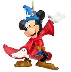 Mickey Mouse as Sorcerer's Apprentice Walt Disney World resort ornament from our Christmas collection Disney World Resorts, Walt Disney World, Disney World Christmas, Christmas Tree Ornaments, Sonic The Hedgehog, Mickey Mouse, Disney Characters, Fictional Characters, Collection