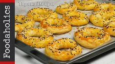 Ιδιαίτερα τυροκουλούρια αφρός Part II | Foodaholics Special Feta Cheese Bagels - YouTube Greek Recipes, Bread, Vegan, Cookies, Bagels, Food, Youtube, Trust, Skinny