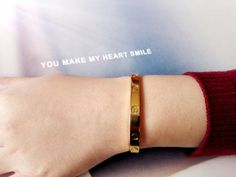 I'm Leah,It's my Cartier love bracelet,cheap price and good quality on: http://www.yourcartier.com