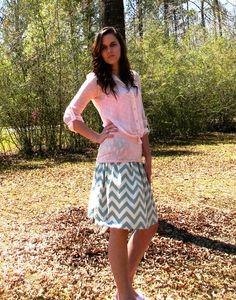 Easy peasy diy skirt
