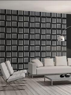 Squares L x W Geometric Roll Wallpaper Lawn Furniture, Furniture Sets, Amazing Gardens, Beautiful Gardens, 3d Panels, Outdoor Venues, 3d Wallpaper, White Marble, Dutch