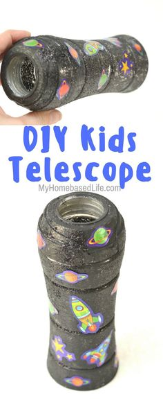 Pretend or imaginary play just got even more fun! Make a telescope for kids usin… Pretend or imaginary play just got even more fun! Make a telescope for kids using household items. Easy Arts And Crafts, Easy Crafts For Kids, Arts And Crafts Projects, Easy Diy Crafts, Diy For Kids, Simple Crafts, Class Projects, Art Crafts, Simple Diy