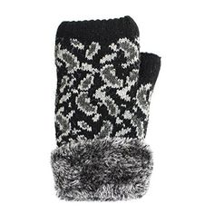27.99$  Watch now - http://viyle.justgood.pw/vig/item.php?t=kidige195 - Ll- Winter Knit Fingerless Gloves Fleece Lined Assorted Patterns And Colors 27.99$