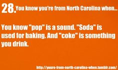 This is for all the things we love, hate, and know about North Carolina. Suggestions are more than...