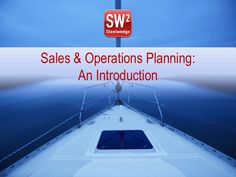 Do you know the secret to a successful Sales and Operations Planning process? Your ability to troubleshoot issues, plan for unexpected events, and maintain a r…