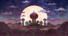 Persian Fairytale Art