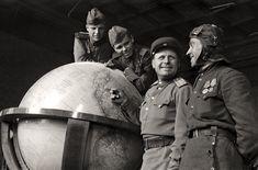 Hitler's Globe - Berlin Germany 1945