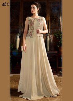 Gilded Satin Silk Designer Gown For More Information WhatsApp 7202080091 Or Visit www.SareeBe.com #red #designer #kurti #fashionista #makeup #UK #outfitoftheday #women-fashion #model #indian #saree #ramadanmubarak #ethnic #picoftheday #cool #summer-style #streetstyle #beauty #styles #rakshabandhan #rakshabandhangift