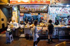 Stand de brochettes à Kowloon © Quentin Gaudillière
