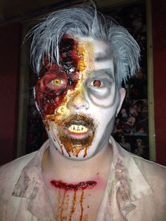 Finally found a name for this look. Say hello to Cosmo #spookers #sfx
