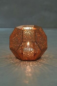 Tom Dixon Bubble-Etched Candleholder  #Anthropologie