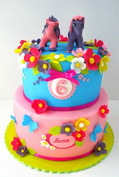 My Little Pony Cake, I wonder if this would terrify her too?