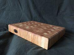 Handmade Oak end grain Butchers Block cutting by PhilsWoodTurning