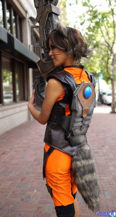 Rocket Raccoon from Guardians of the Galaxy Cosplayer: The...