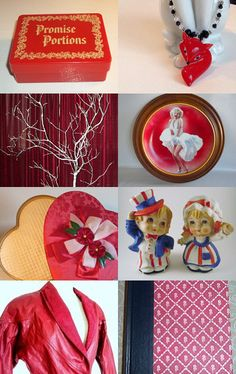 RED HOT Promises TEAMVINTAGEUSA by Lana Thibeault on Etsy--Pinned with TreasuryPin.com