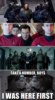 Loki, Kahn, Superman...all beaten to being dramatically led down a hallway in handcuffs by Princess Leia...ROCK ON! Take a number boys, i was here first!