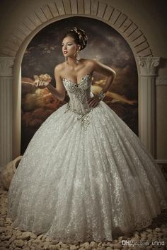 You might just fall in love with one of these gorgeous white gowns!
