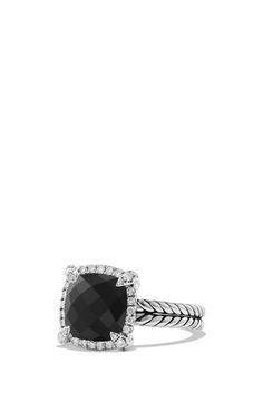 490b3a4bc96 David Yurman  Châtelaine  Small Pavé Bezel Ring with Diamonds