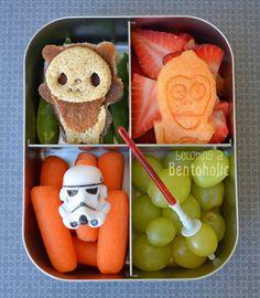Star Wars Bento ~ Becoming A Bentoholic #LunchBots