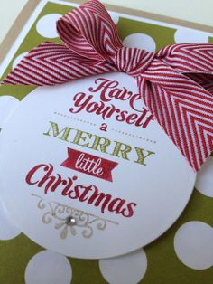 Margriet Creatief, Merry Little Christmas, Stampin´ Up!