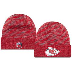 New Era Kansas City Chiefs On Field 2018 Touchdown Winter Knit Hat Winter  Knit Hats 122686280158