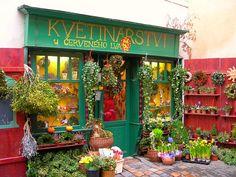flower shop, Prague