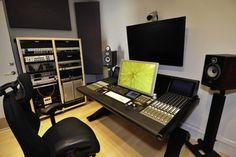 Man Cave#1 (my hobby studio) - contemporary - media room - los angeles - Frank
