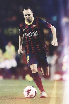 Happy birthday Iniesta! He is one of the best midfielders ever and one of my favorites.