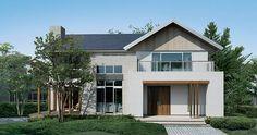 切妻屋根が美しい家 一戸建て木造注文住宅の住友林業(ハウスメーカー)