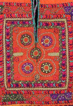 Chest panel (qabah) of a Ramallah dress
