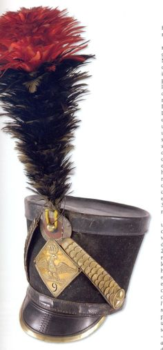 Shako of the 9th hussars1806   Empire Museum.
