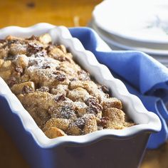 Applesauce Bread Pudding -   From The Best of Food Digest a Reader's Digest Cookbook:  Raisins, applesauce and cinnamon all main ingredients in this pudding.
