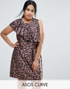 Asos curve mini lace dress