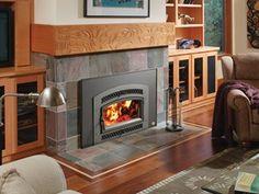 33 Elite Plus arch door wood insert - steel - by Fireplace Xtrordinair
