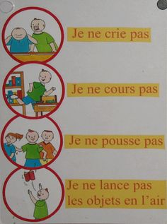 règles de vie French Teaching Resources, Teaching French, Classroom Rules, Classroom Setting, French Education, Kids Education, Behavior Management, Classroom Management, Classroom Arrangement