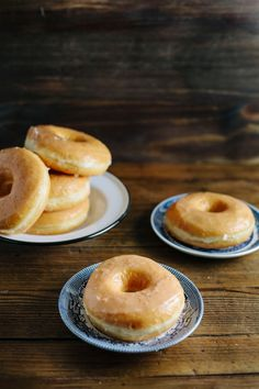 A recipe for brioche donuts with honey glaze, adapted from The New Artisan Bread in 5 Minutes A Day.