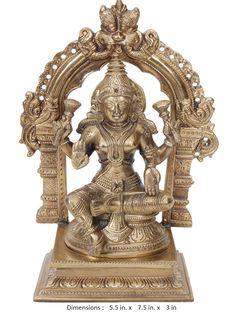 Bronze Lakshmi Brass