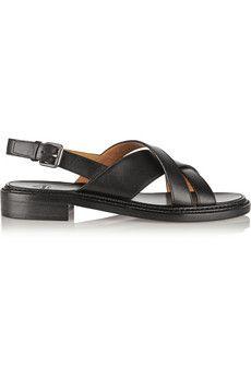 Church's Maria leather slingback sandals | NET-A-PORTER