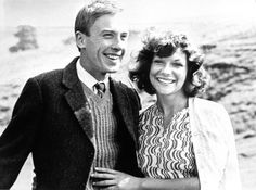carol drinkwater and christopher timothy | Christopher Timothy as James Herriot with Carol Drinkwater as his wife ...