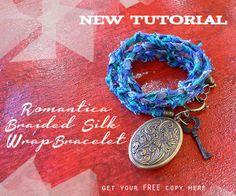 Romantica Braided Silk Wrap Bracelet How-To