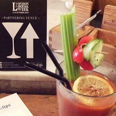 Ogilvy Bloody Mary competition - Bjorn's entry